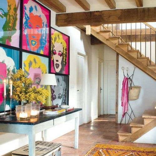 250 best Pop Art Interior Design images on Pinterest