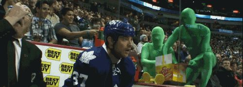 Hockey the great canadian sport...... sometimes   funny hockey 4