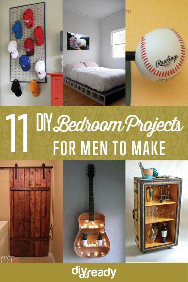 Are You In Need Of Diy Bedroom Projects For Men If You Want To Make Your Bedroom Lo In 2020 Diy Projects For Bedroom Diy Projects For Men Men Diy Projects