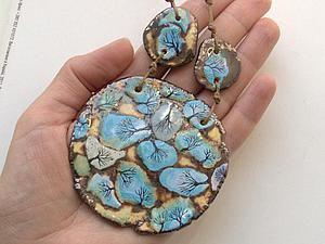 Голубые ку-ку | Ярмарка Мастеров - ручная работа, handmade