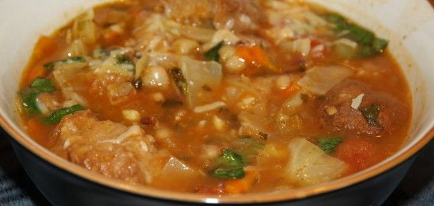 Риболлита, суп бедняка с богатым вкусом