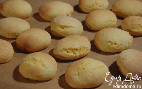 Лимонное печенье «Солнышко» с кукурузной мукой  | Кулинарные рецепты от «Едим дома!»