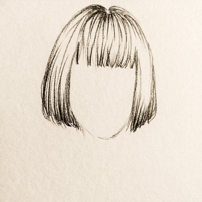 Existem diversas formas de desenhar os cabelos e não existe um padrão, tudo depende de que tipo de desenho está fazendo. Quando é pra ser um desenho um pouco mais realista... Os cabelos são mais detalhados e tem um efeito de luz e sombra pra definir as mechas e brilho dos cabelos. Eu particularmente, quando