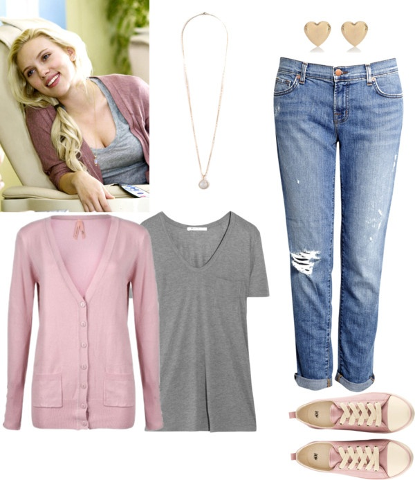 """""""Scarlett Johansson inspired outfit"""" by natihasi on Polyvore"""