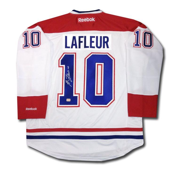 ... Guy Lafleur Autographed Montreal Canadiens Jersey ... cc5fe0584