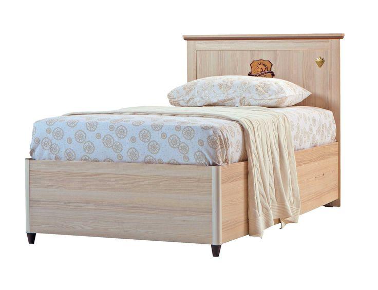 Cilek Royal Bett mit Bettkasten  Das Cilek Jugendbett mit Bettkasten vereint Eleganz und Stauraum auf kleiner Fläche. Unter der bequemen Schlaffläche findet sich ein geräumiger Bettkasten, in dem sich Allerlei verstauen... #kinder #kinderzimmer #kinderbett #bettkasten #cilek