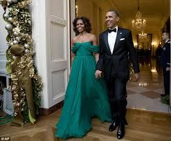 Image result for michelle obama christmas ball dress