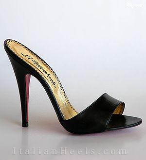 Black Slippers Ametista