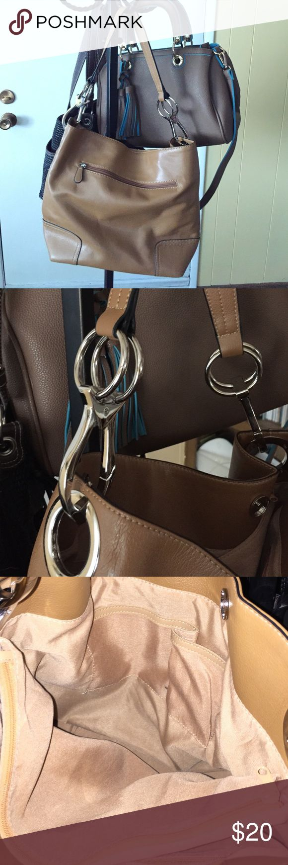 Hollywood steals home and family - Hollywood Steals Home And Family Tan Leather Handbag Purchased On Home Family Show S Hollywood