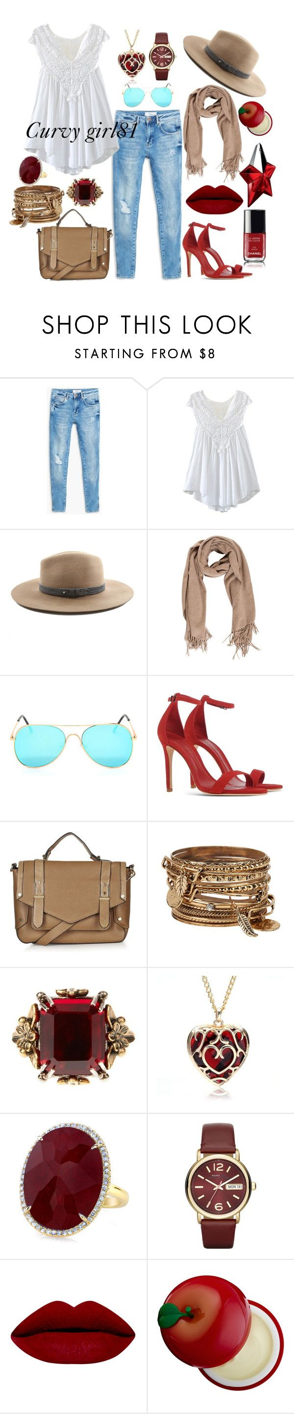 """Pretty red"" by pretty-girl81 on Polyvore featuring moda, MANGO, rag & bone, Schutz, Topshop, ALDO, Alexander McQueen, Marc by Marc Jacobs, Chanel e Tony Moly"