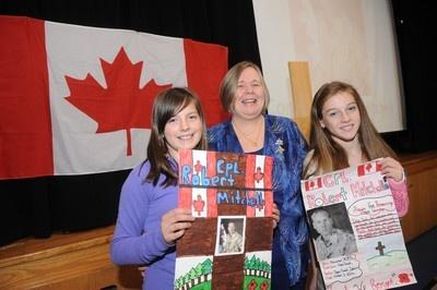 MEDIchair Oakville thanks Canadian veterans @ 11th annual Veterans' Luncheon in Oakville, Ontario