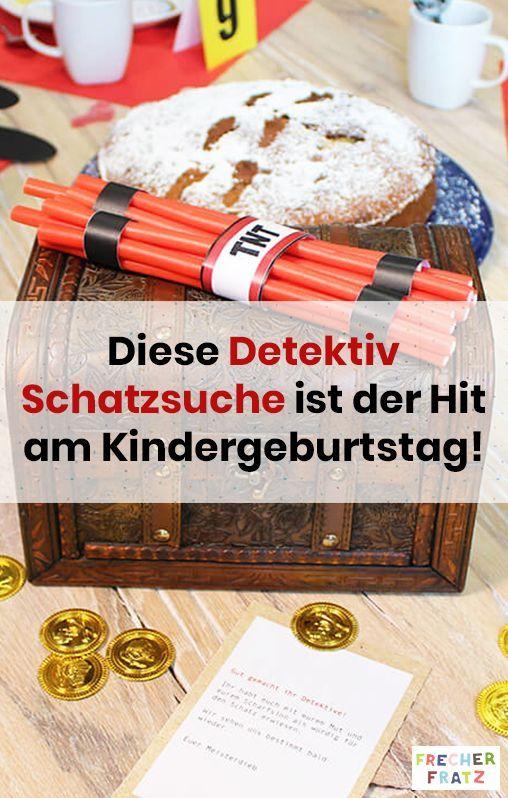 Aufgepasst! Du willst etwas ganz besonderes für den Detektiv Kindergeburtstag? …