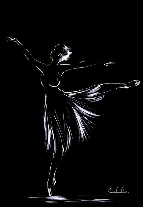 самом графические картинки балерин смело утверждать
