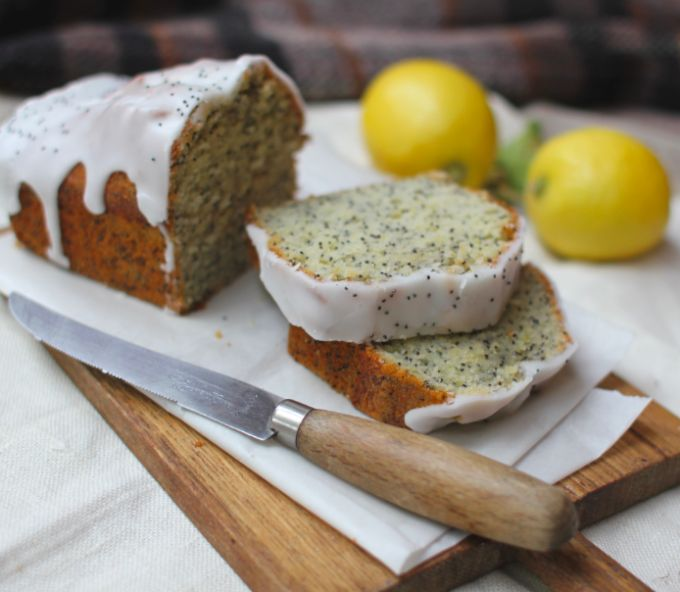 lemon poppy seed loaf cake picnic recipe cupofjo (1)