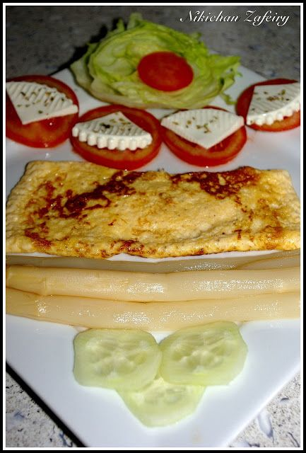 Cena ligera para verano con tortilla francesa food for Cenas francesas
