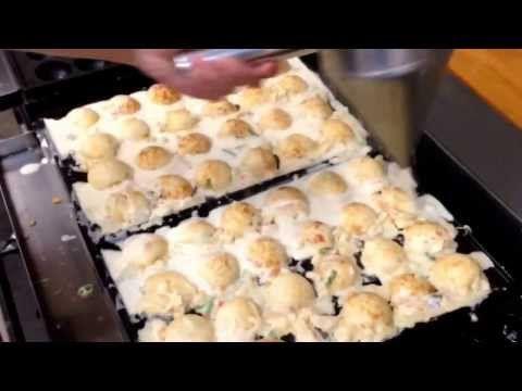 プロが教える、美味しいたこ焼きの焼き方![Making of the takoyaki]