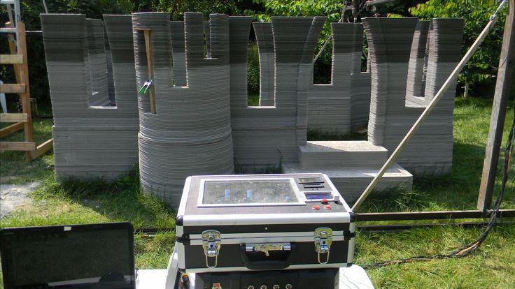 Shorewood Man Builds Concrete Castle With Homemade 3D Printer - CBS Minnesota
