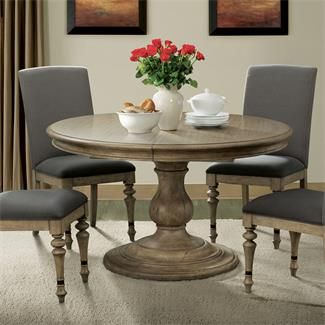 Corinne Round Pedestal Dining Table I Riverside Furniture