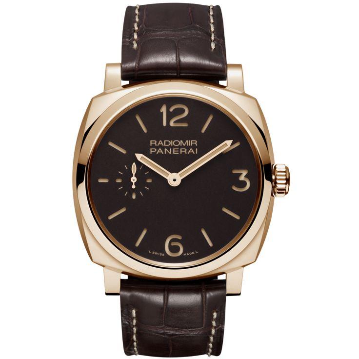 #PaneraiRadiomir 1940 Oro Rosso Rose Gold #Watch