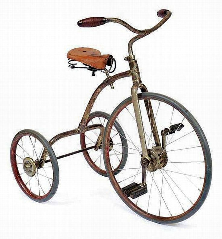 This bicycle was made in the 1920's. This picture relates to the time period today because people still ride bikes, just not them kind of bikes.I chose this picture because i think bikes are very cool.