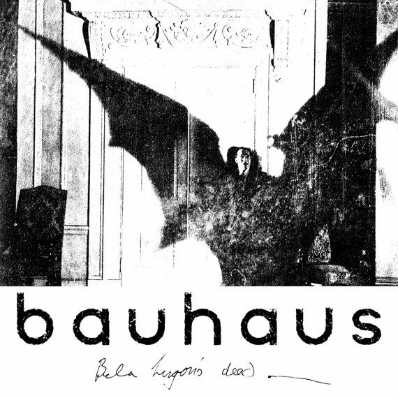 Bauhaus album cover art bela lugosi is dead by antiquephotoarchive