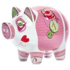 Ritzenhoff Large Piggy Bank - Dominika Przybylska