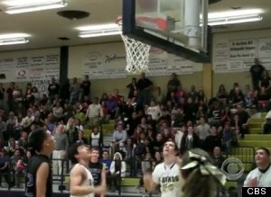 Mitchell Marcus, Special Needs Teen, Scores Basket In Final Game After Opposing Team Gives Up Ball