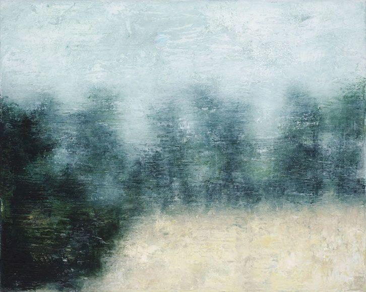 Joanna Logue: Essington II 2009  oil on linen 40.5 x 50cm – S O L D