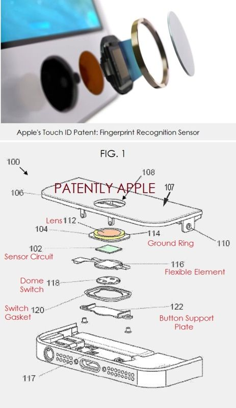 Touch ID Patent Applications Show Details Behind 'Secure Enclave' and iPhone 5s Implementation
