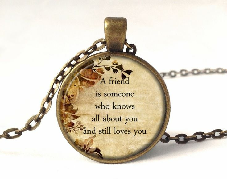 QUOTE Necklace, Quote Pendant, 0221PB from EgginEgg by DaWanda.com