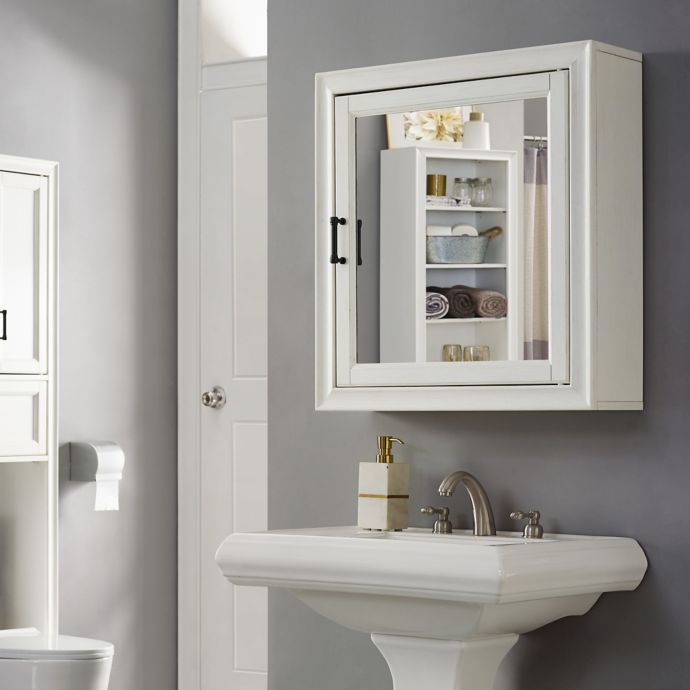 Crosley Furniture Tara Bath Mirror Cabinet Mirror Cabinets