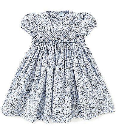 Edgehill Collection Baby Girls 324 Months Floral Smocked Dress #Dillards