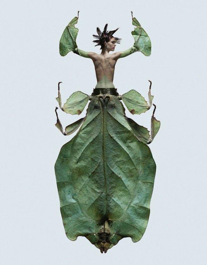 Resultado de imágenes de Google para http://thecitylovesyou.com/urban/wp-content/uploads/2012/08/Mujeres-insecto-x-Laurent-Seroussi3-660x844.jpg