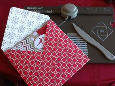 stampin up envelope board projects | ... of the many things to do with the Stampin' Up! envelope punch board