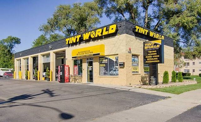 tint world bensenville store front by tint world via flickr auto styling centers i tint world. Black Bedroom Furniture Sets. Home Design Ideas