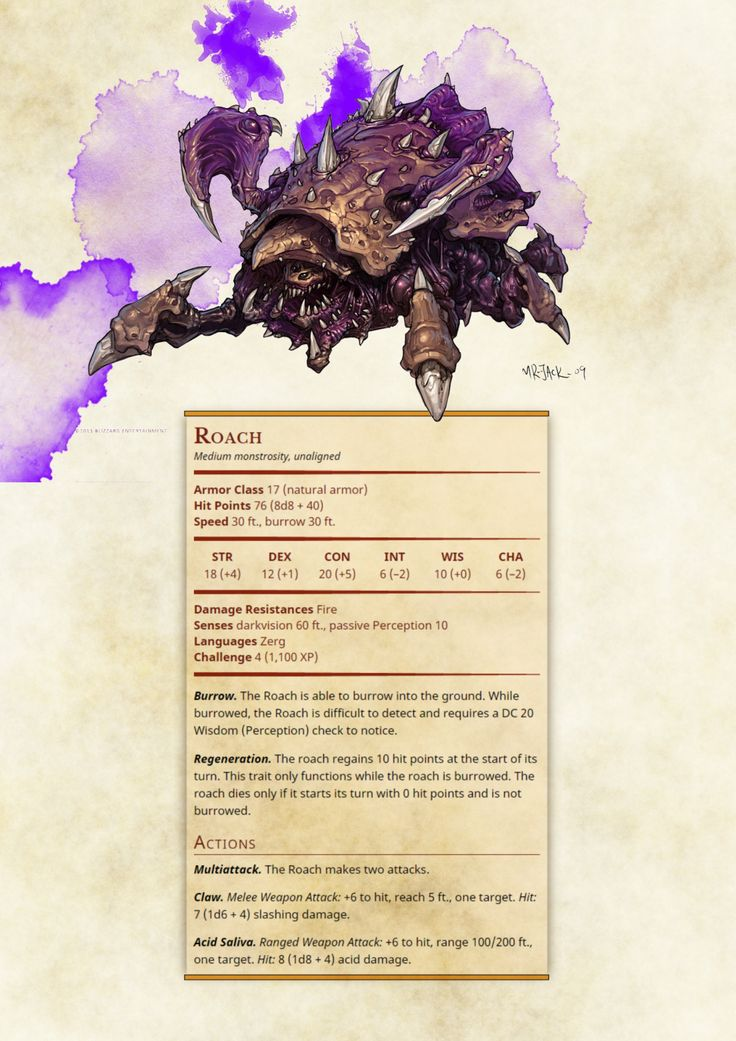 http://dnd-5e-homebrew.tumblr.com/post/137242125427/starcraft-npcs-and-monsters-part-1-by