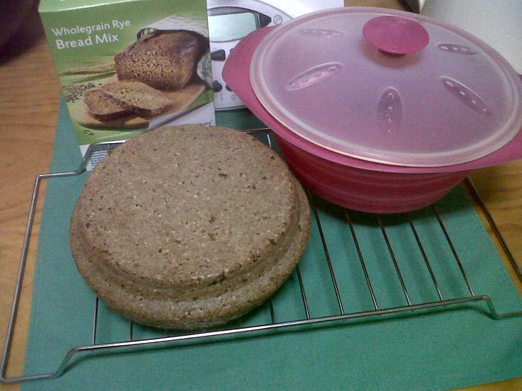 Premezcla pan de centeno entulinea. Por fin tenemos un pan saciante fácil de preparar