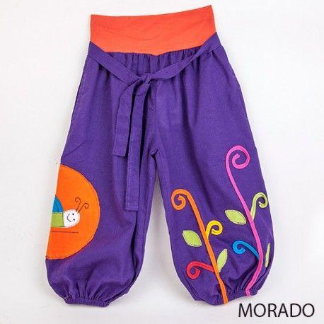 pantalon bombacho infantil