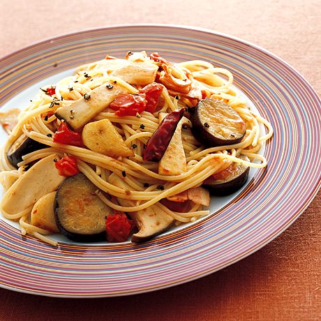 なすときのこの和風パスタ | 石原洋子さんのパスタの料理レシピ | プロの簡単料理レシピはレタスクラブニュース
