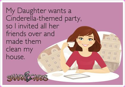 Image result for my daughter wants a cinderella themed party