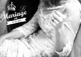 Le Mariage Thank you