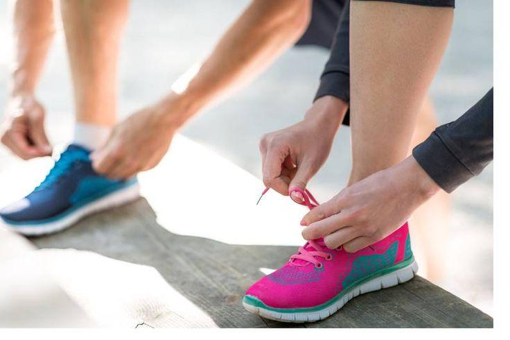 Die stabilen Trailschuhe bieten einen starken Schutz und reduzieren die Belastung. Auch für schwere Läufer geeignet.
