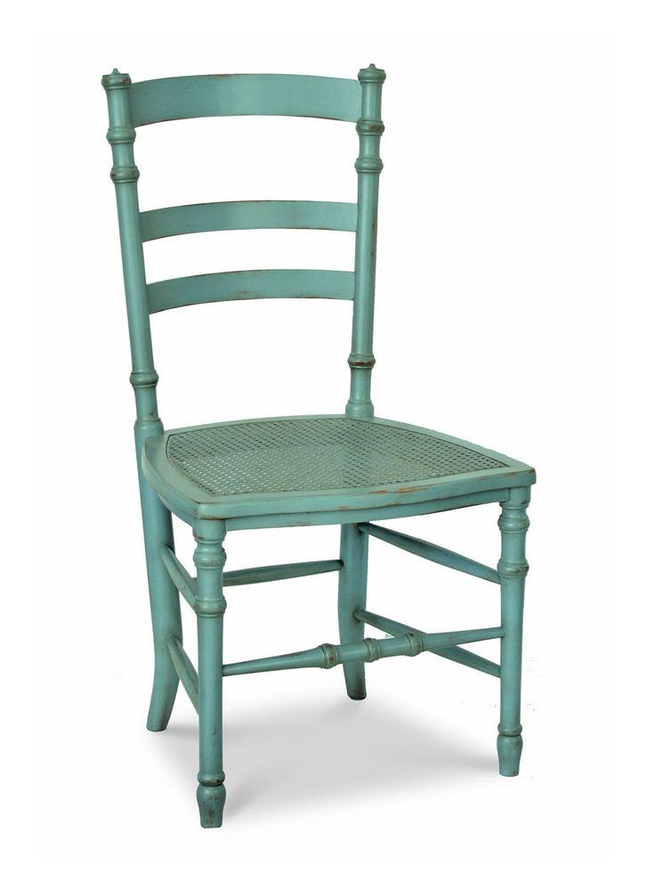 Gemalt Holz Ess Stühle Esszimmerstühle