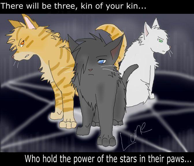 Warriors The Prophecies Begin Book 3: Warrior Cats-Power Of Three By Runesoul.deviantart.com On