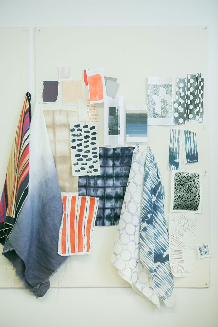 Pattern Design Mood Board from Rebecca Atwood