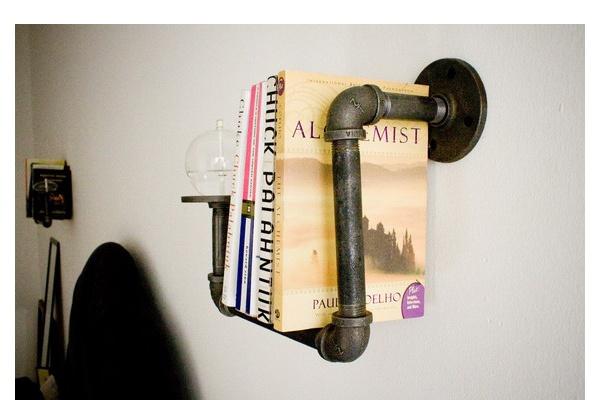 Sconce Piping Bookshelf