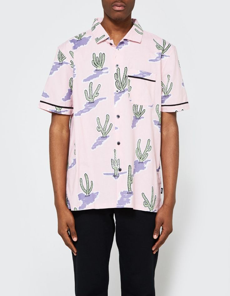 Cactus Shirt in Pink
