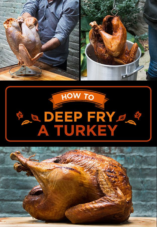 Here's Exactly How To Deep Fry Your Thanksgiving Turkey