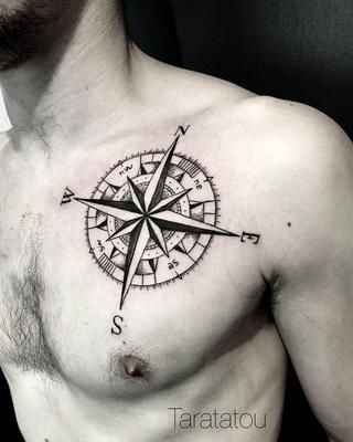 Disenos De Brujulas Para Hombres 8 90 Tatuajes De Brujulas Para