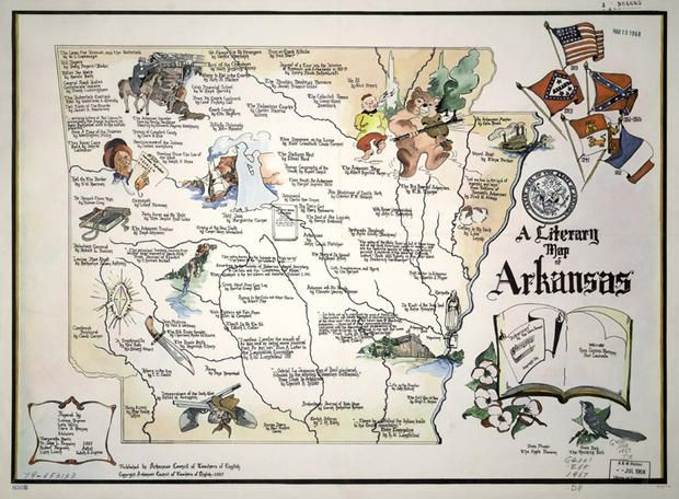 18 Literary Maps Of The United States
